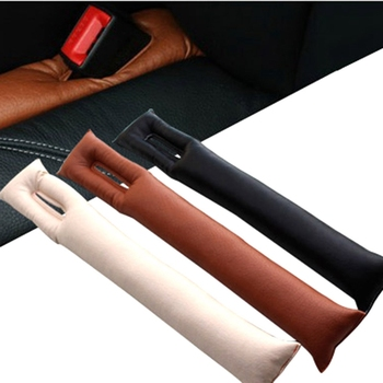 1Pcs PU Leather Car Seat Gap Stopper Stop Leak Proof Drop Leakproof Pad Filler Spacer Mat Cushion Center Console Armrest Sticker 1