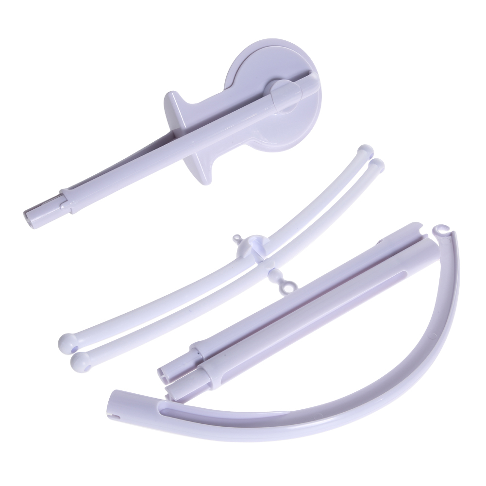 Baby bed holder - 5pcs Baby Crib Holder Abs Diy Hanging Baby Crib Mobile Bed Bell Toy Holder 360 Degree