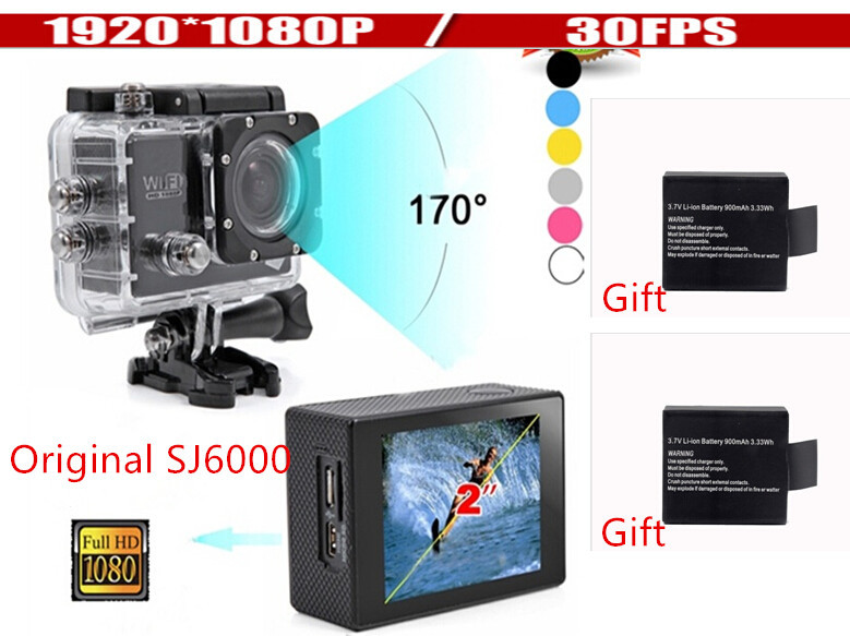 New 2015 Wifi Action Camera 12MP Full HD digital camera 1080P 30FPS 2.0LCD Diving 30M Waterproof sj5000 sj4000 sport DV ...