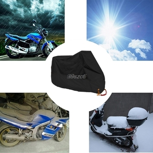 Image 2 - Waterproof Outdoor Motorbike UV Protector Rain Dust Bike Motorcycle Cover L/XL/2XL NEW DropShip