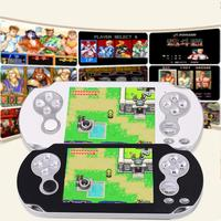 New 32 Bit PMP Handheld Video Game Console Player MP3 MP4 Support Classic Games Professional Gamepad