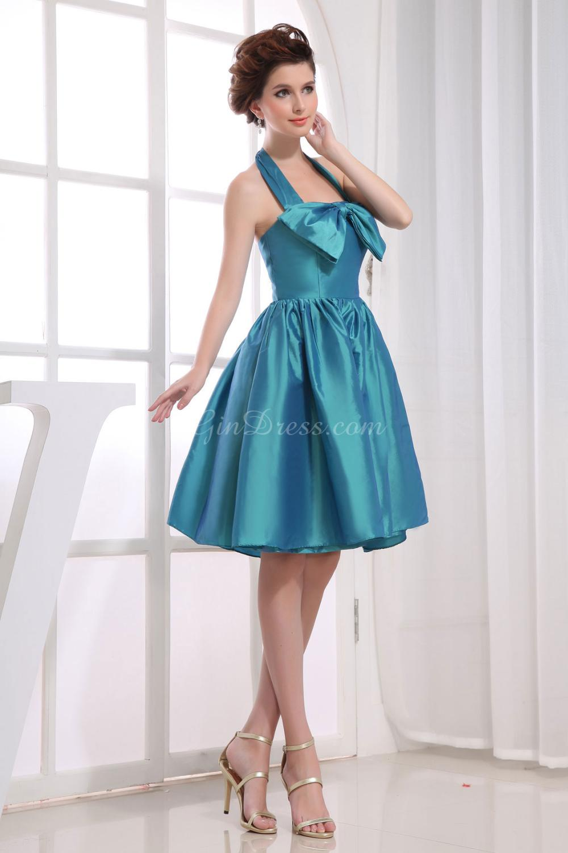 Discount Bridesmaids Dresses Short V Neck Bridesmaid Copper Gold Uk ...