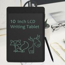 10 дюймов ЖК-дисплей записи планшет для рисования Графика Pad Портативный рукописного ввода графической информации доска Развивающие игрушки для детей, взрослых