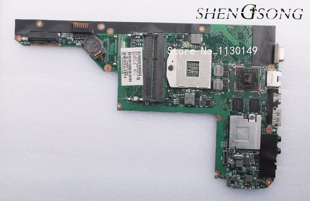 Notebook mainboard 630820-001 for HP pavilion CQ32 DV3 DV3-4000 laptop motherboard system board TESTED WELL 628189 001 for hp dv3 4000 dv3 laptop motherboard ddr3 free shipping 100