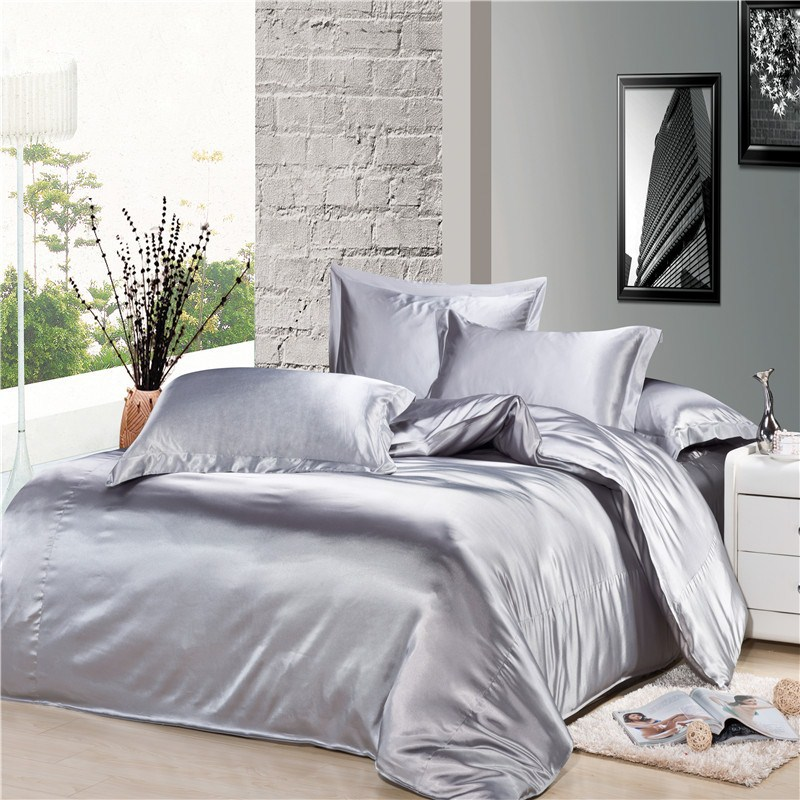 Image result for silver grey bed spread