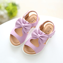 2017 New arrival girls sandals fashion summer child shoes high quality cute girls shoes design casual kids sandals