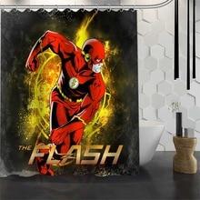 Best Custom Waterproof Bathroom The Flash Shower Curtain Polyester Fabric 165X180cm180X200cm P