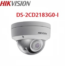 цены Hikvision poe outdoor infrared 8mp  camera WDR home protection system DS-2CD2183G0-I cctv video surveillance security ip camera