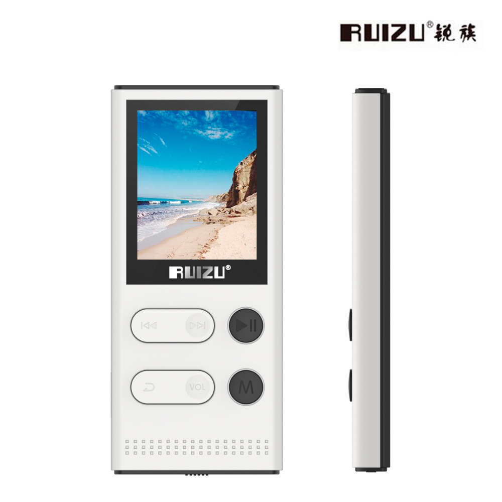 New Arrival Original RUIZU X22 MP3 Player With 1 8 Inch Screen Can Play 80 hours
