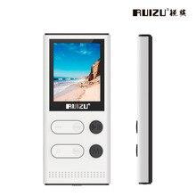Nueva Llegada Original RUIZU X22 MP3 Player Con 1.8 Pulgadas pantalla Se Puede Jugar 80 horas 8 gb Reproductor de Música Con FM Radio, Grabación, E-libro