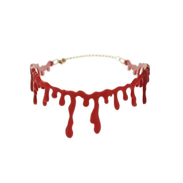 Кровавое ожерелье для Хэллоуина 1