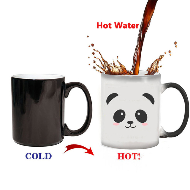Panda Color Cup Coffee 20OffBuy For Heat Us11 Cute Gift Creative Changing Tea Mug Mugs Magic Reveal 19 As Ceramic KJclFuT13