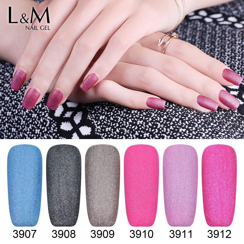 9 Pcs Free Shipping Velvet Gel Nails Polish Professional Nail Art ...