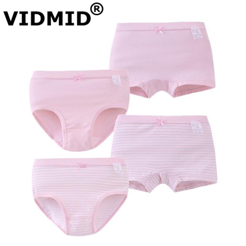 VIDMID Girl   Panties   Boxer Underwear Girls solid Cotton   Panties   Girls   Panties   Underwear clothing for 4-12 years children 7010 41