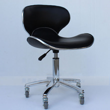 The bar chair. Hairdressing. Pulley stool. Swivel chair master chair. Technician chair
