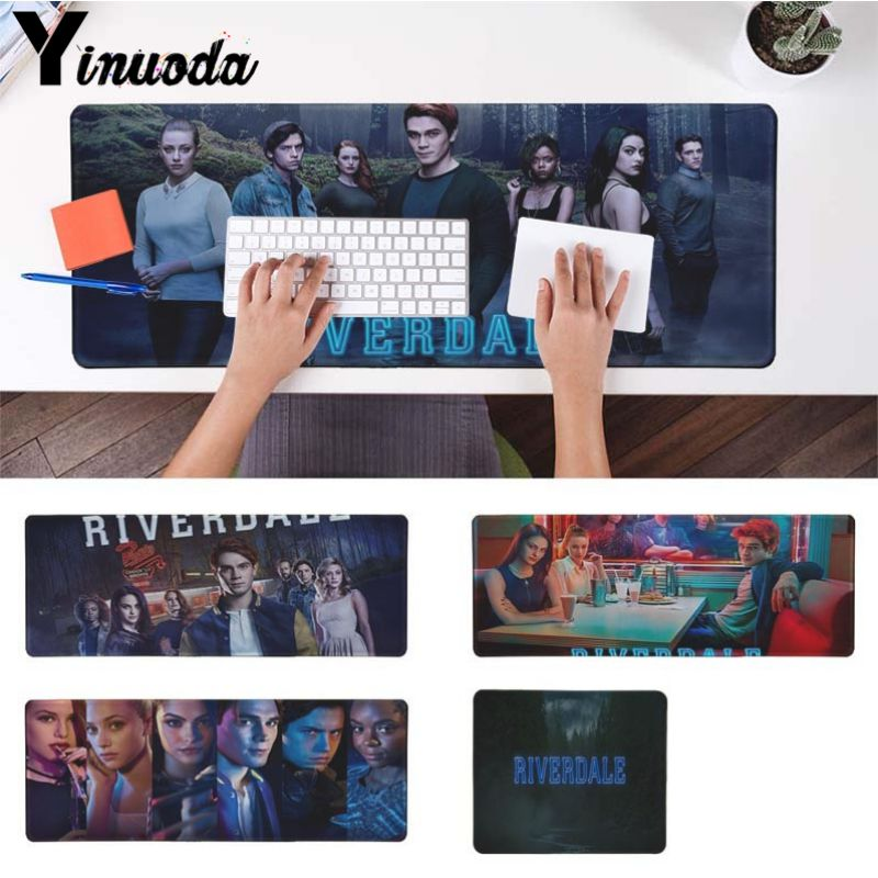 Yinuoda Hot TV show Riverdale Adorable Laptop Gaming Mice Mousepad Size for 180*220 200*250 250*290 300*900 and 400*900*2mm