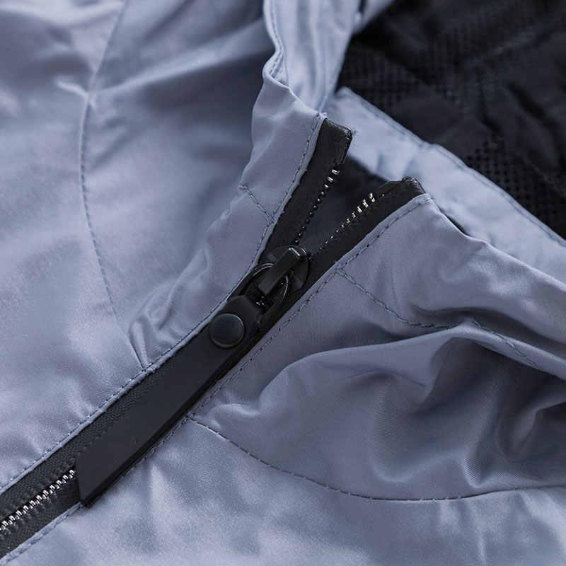 SEMIR мужские куртки 2019 Осенняя Корейская версия модная спортивная куртка с капюшоном мужская верхняя одежда с внутренней сумкой гладкая ветрозащитная куртка