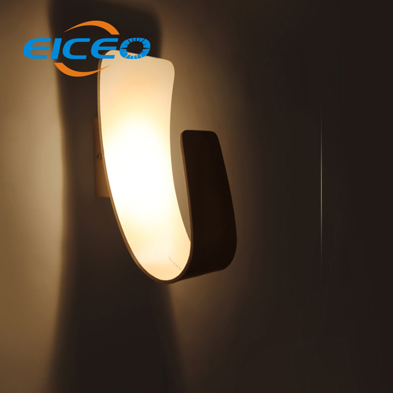 (EICEO) Creative Personality LED Wall Lamp Lights Living Room Bedroom Bedside Lamps Corridor Hotel Project Lighting Aisle Light dia 28cm retro creative restaurant bedside wall lights living room bedroom aisle loft wall lamps resin antlers lamp