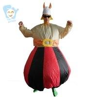 Costumi di Halloween Per Gli Uomini Cosplay Pirata Gonfiabile Vichingo Costumi Adulti del Vestito Operato Stitch Adulto Tutina