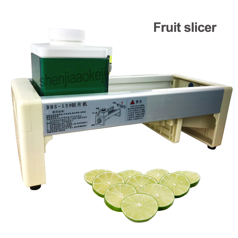 Fruit slicer Restaurant lemon slice block machine orange banana Kiwifruit slicer apple cutting machine for milk tea shop 1PC new design citrus lemon banana tomato slicer slicing cutting machine fruit and vegetable slice machine price