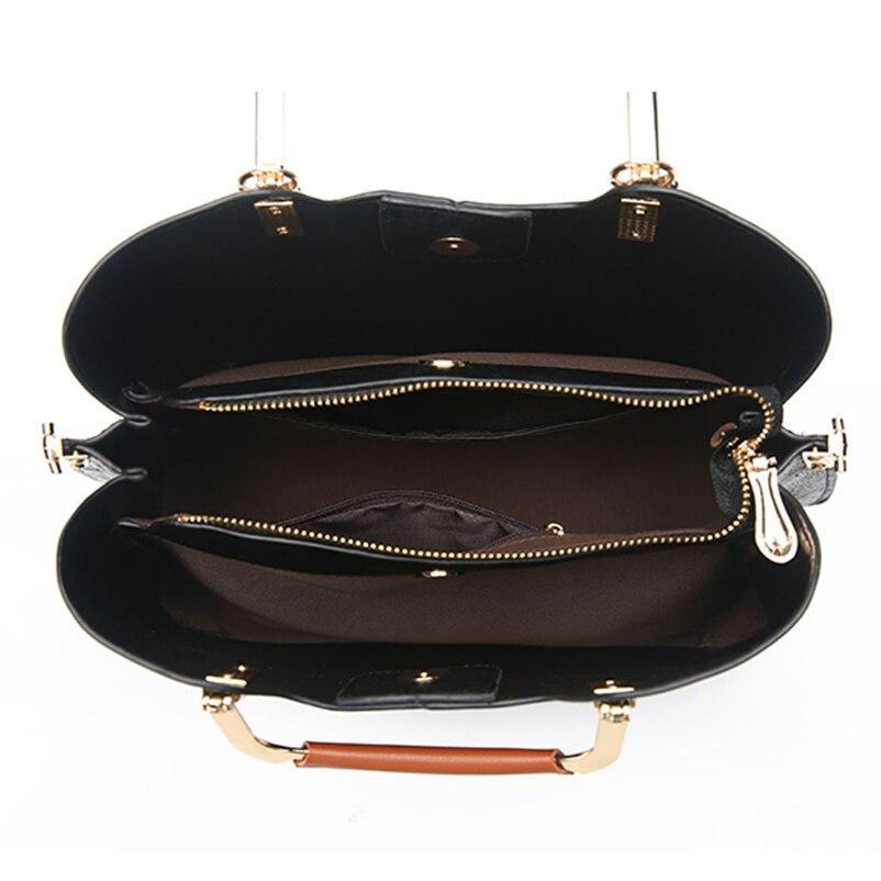 Nevenka Brand Design Women Luxury Handbags Female Tassel Sequined Messenger Bag Quality Leather Tote Solid Zipper Evening Bags17