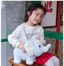 1pc 30/40cm Kawaii Baby Dolls Stuffed Lovely Animal Plush Toys Funny Elephant Dinosaur Hippo for Children Kids Xtmas Gift