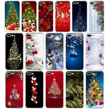 38SD Christmas holiday Tree New Year Soft TPU Silicone Cover Case For