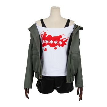 Persona 5 Futaba Sakura Shirt Coat Jacket Costume Full Set