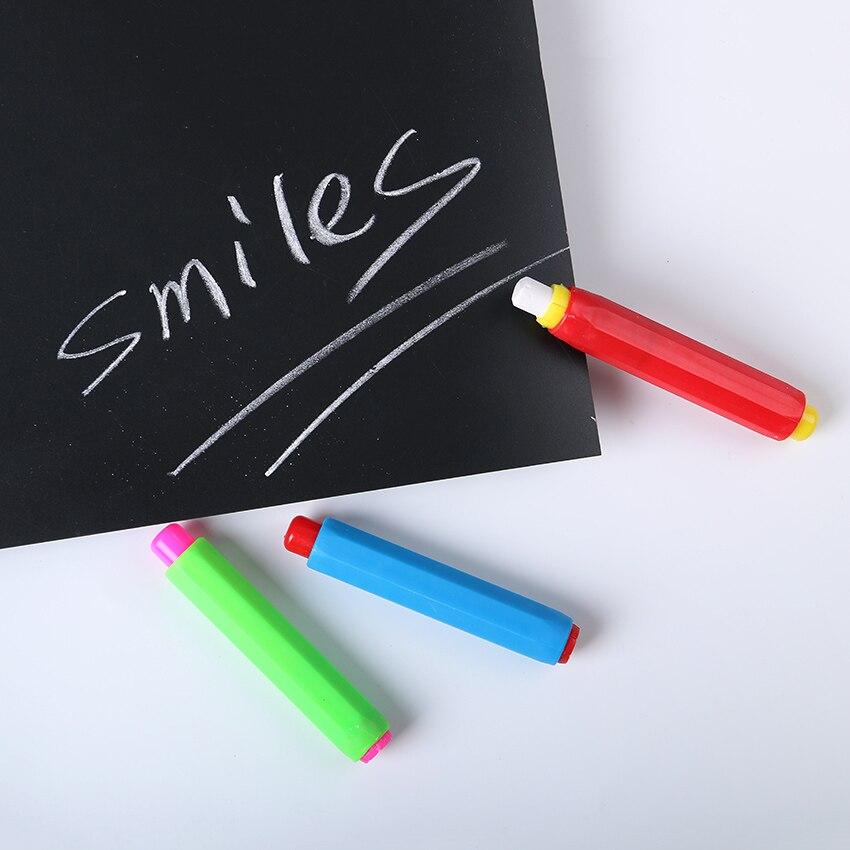 1pc Colourful Chalk Holders Clean Teaching Hold For Teacher Children Home Education Chalk Sets #2