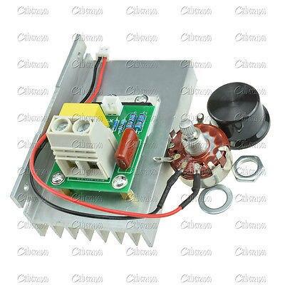 10000 W AC 220 V SCR regulador de Voltaje Regulador de Velocidad Del Motor Del Amortiguador Del Termostato