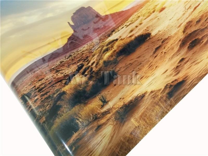 Mr.Tank Yellow Desert Aquarium Pozadina poster Riba zrna zmija Zid - Kućni ljubimci - Foto 4