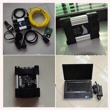 ready to work diagnostic tool for bmw icom next a b c with software rheigold 4.07+ e6320 laptop (4g, i5) work for bmw icom