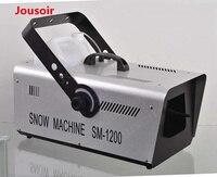 Горячая распродажа высокое качество 1200 Вт DMX снегоуборочная машина для события вечерние, диско, Studio, свадьба, этап Спецэффекты DMX свет этапа