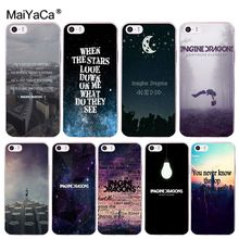 Здесь можно купить   MaiYaCa imagine dragons night music Style Cell Phone Case for iPhone 8 7 6 6S Plus X 10 5 5S SE 5C 4 4S Coque Shell Mobile Phone Accessories & Parts
