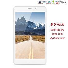 Новые 8 дюймов планшетный ПК Android 5.1 3 г Tab Pad таблетки Quad Core 1 ГБ Оперативная память 8 ГБ Встроенная память 1280*800 IPS GPS WI-FI 3 г телефон вызова Phablet