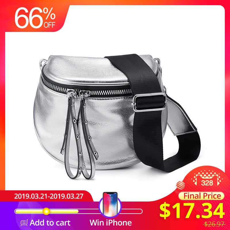 07bdd11eb3a6 Realer дамская кроссбоди сумка, Модный бренд женская сумочка из  искусственной кожи, сумка на плечо