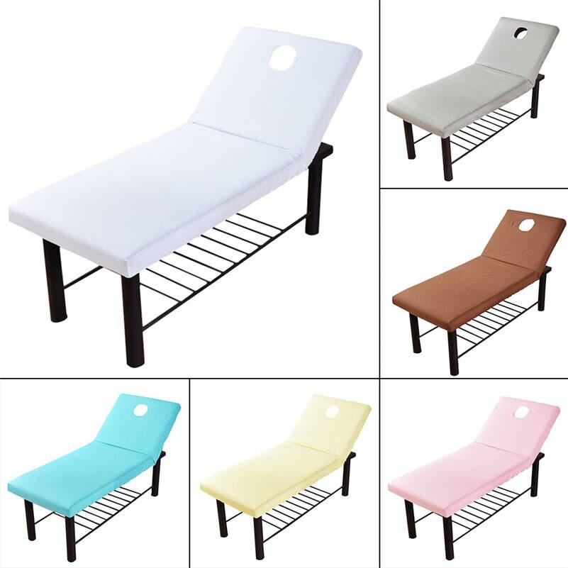 Flight Tracker Ademend Massage Tafel Laken Met Elastiek Band Gat Salon Couch Bed Cover Bloedcirculatie Activeren En Pezen En Botten Versterken