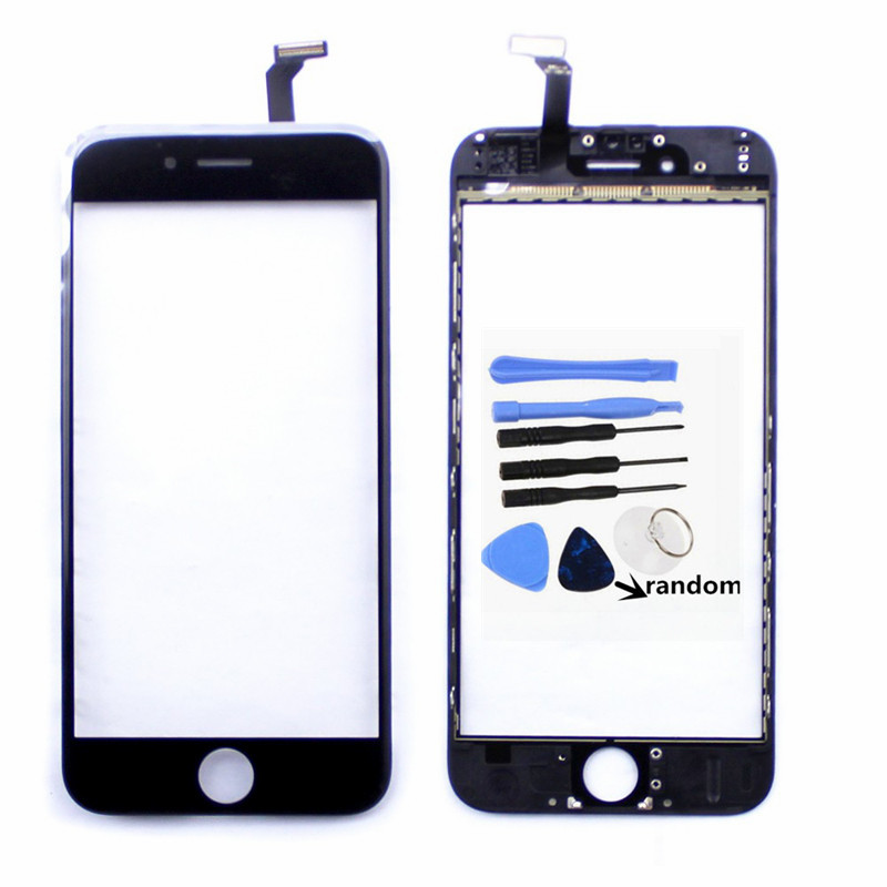 Atten Super Definition for Iphone6 Touch Screen Digitizer Panel with Frame Replacement Parts for Iphone6 Touch Panel+Tool+5ml UV