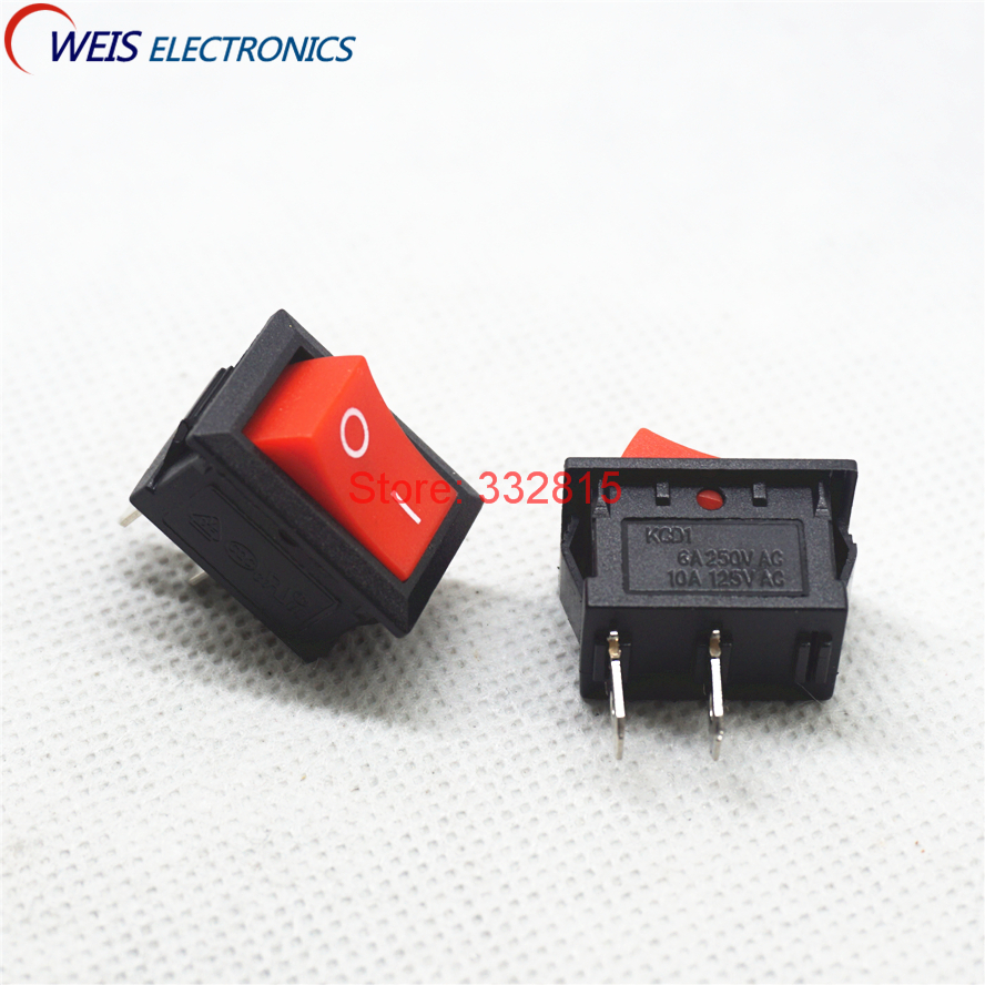 USA SELLER 1 PC DPDT ON-OFF-ON Rocker Switch w//Arrow Symbols KCD2 16A//250VAC