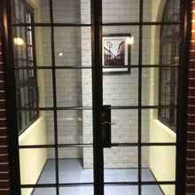 Внешние металлические двери со стеклянными внешними металлическими двойными дверями