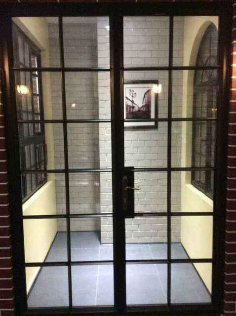 Hot Discount Cfdf Exterior Metal Doors With Glass Exterior Metal Double Doors Cicig Co
