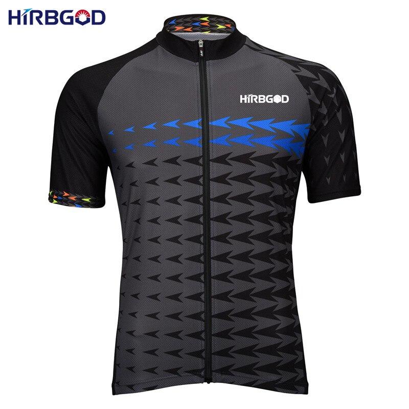 Prix pour HIRBGOD 2017 Nouveau Hommes flèche montagne vélo jersey d'été mâle à manches courtes vélo vêtements maillots de cyclisme maillot vêtements, NM322