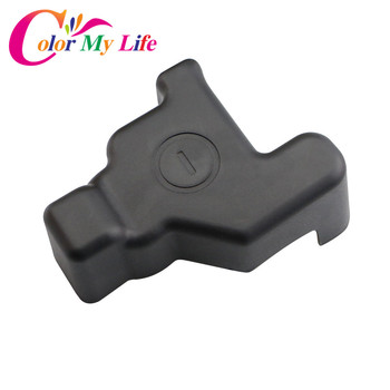 Color My Life Car Battery Negative Protection Cover Frame Clip Case ABS Plastic Covers for Toyota RAV4 RAV 4 2016 2017 2018 image