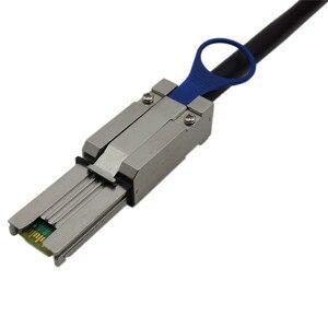 Image 4 - SFF 8088ถึง4x SATA 7Pin Mini SAS 26Pถึง4สายSATA L = 1.0M