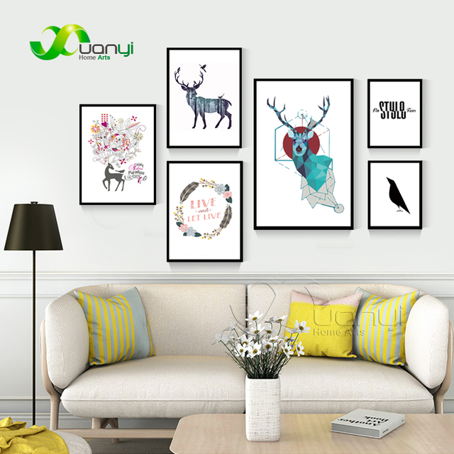 1 Piece Canvs Painting Modern Nordic Art Prints Posters Wall Decor Art For Kids Room Nordic  sc 1 st  AliExpress.com & 1 Piece Canvs Painting Modern Nordic Art Prints Posters Wall Decor ...