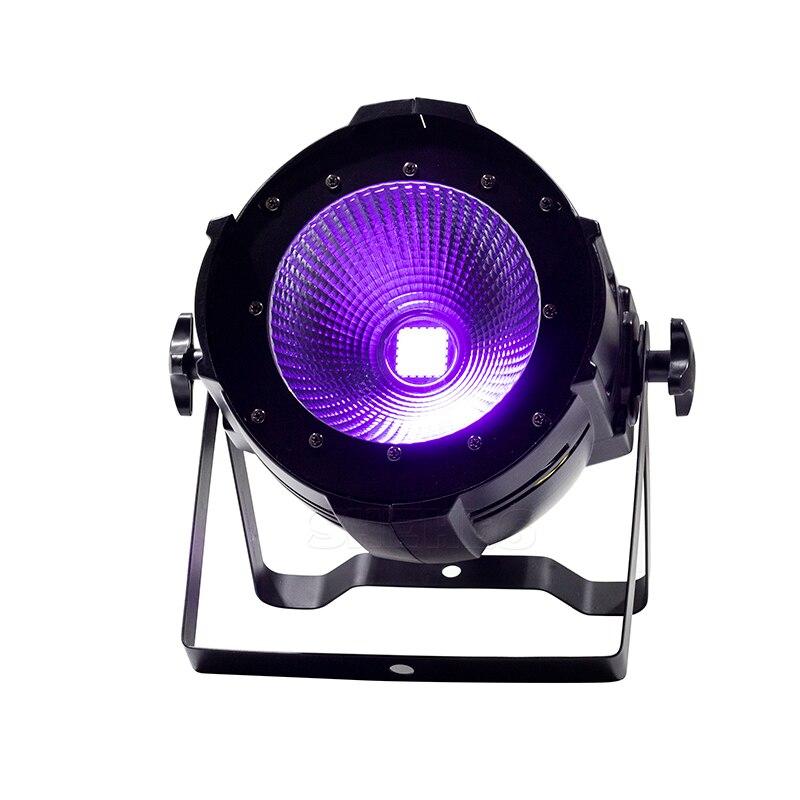 LED Par COB 200 W Seulement Violet Strobe Lumière de La Scène DMX Contrôleur Mobile Production Églises Scène Professionnelle et Dj SHEHDS