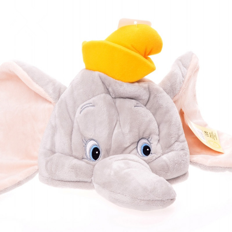 Hot Sale New 2017 Christmas Animal Grey Circus Flying F Elephant With Big Ears Plush Hat Soft Kid Toy Gift Boy Girl Children