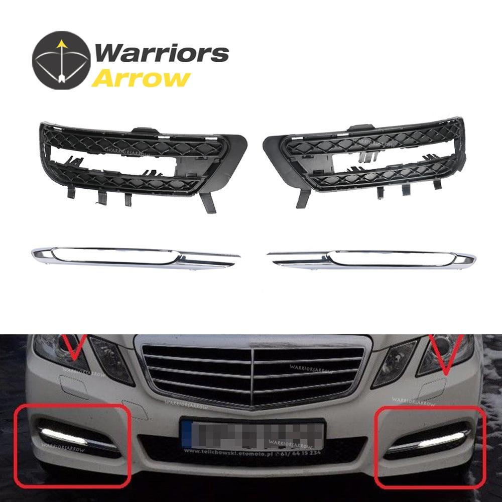 Sonstige Teile Für Mercedes-Benz W212 E-Klasse 2013-2015 Abdeckung Rand Chrom Silber Neuester