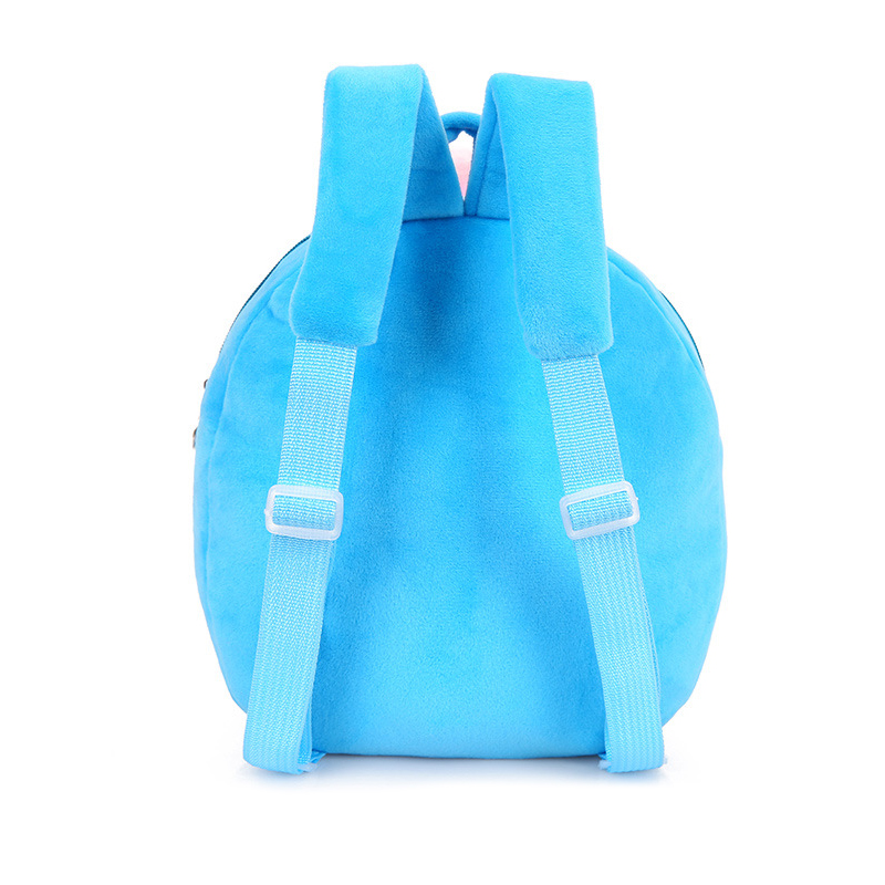 Lovely-Children-Plush-Cartoon-Bags-Kids-Backpack-Children-School-Bags-3D-Pig-Bags-For-Boys-Girls-Brinquedos-Kids-Toys-5-Colors-3
