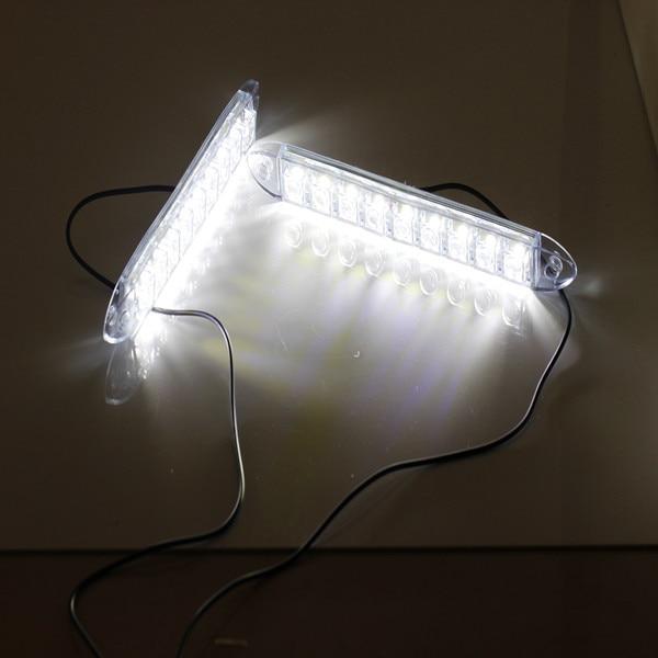 led 12v White LED Flexible Silicon Auto DRL driving light COB front light waterproof headlamp daytime running light High power